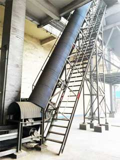 Application of belt conveyor in chemical fertilizer plant